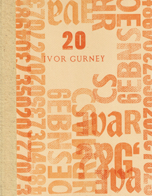 research paper on ivor gurney Edward thomas 1878-1917: the arras conference université d'artois, arras, france 6-7 april 2017 adrian grafe (université d'artois textes et cultures research.